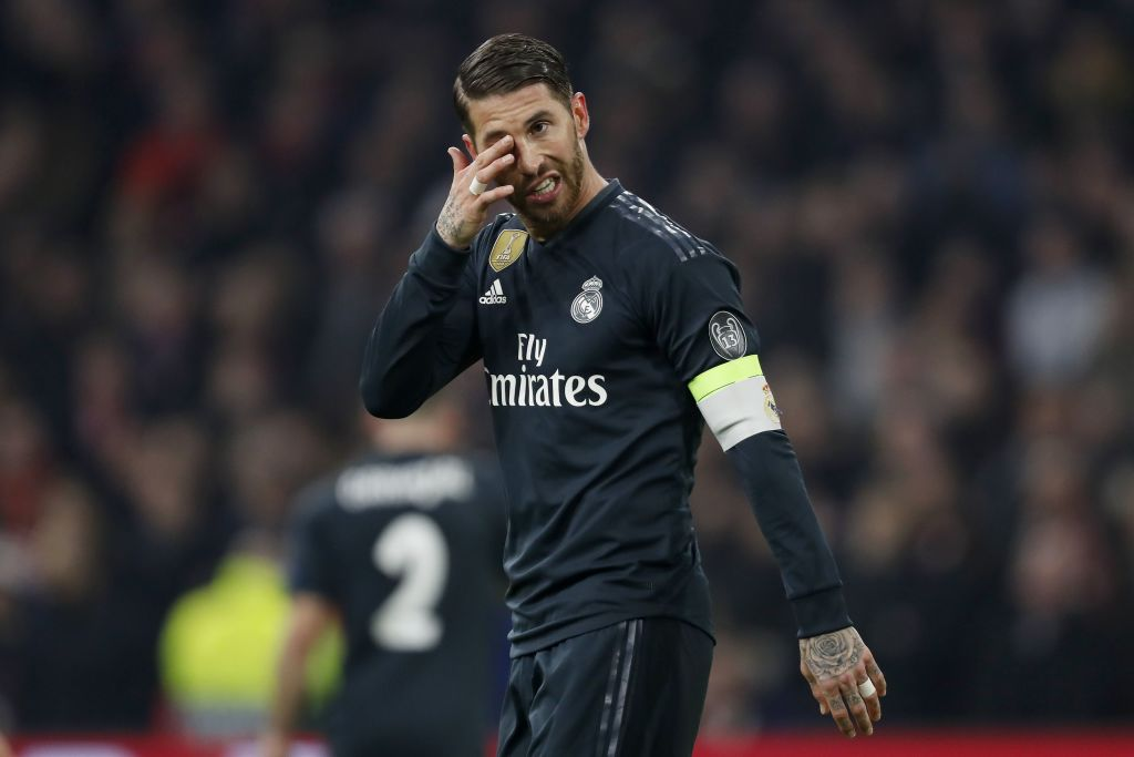 Sergio Ramos faces Champions League ban after admitting to deliberate yellow card in Real Madrid's win over Ajax