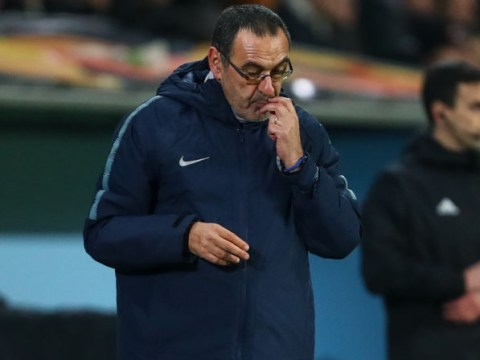 Chelsea star confides in advisor Maurizio Sarri could be axed after Carabao Cup final
