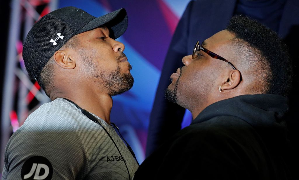 Anthony Joshua vs Jarrell Miller fight date, records, heights, odds and undercard