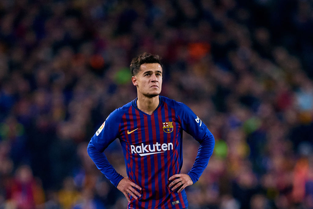 Barcelona teammates rally around 'sad' Philippe Coutinho amid transfer speculation