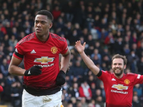 Anthony Martial reaches Manchester United milestone with Fulham goal