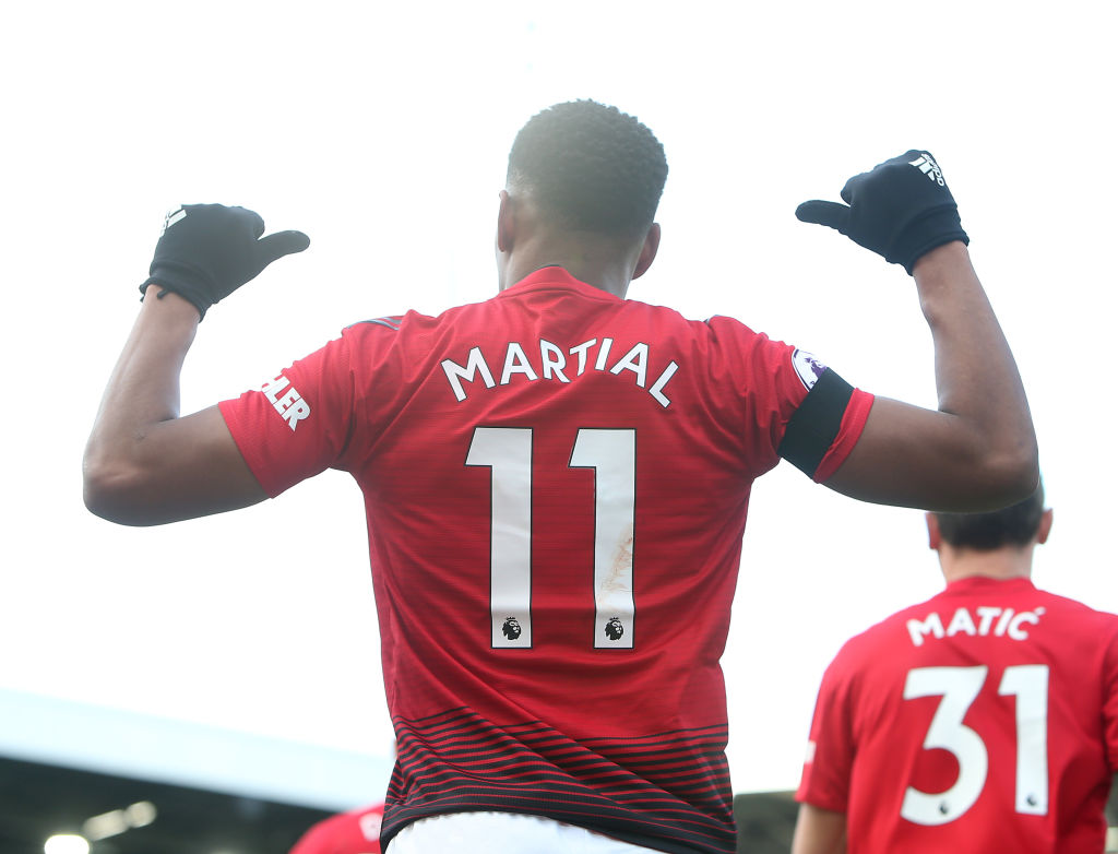Anthony Martial can be the new Cristiano Ronaldo, says Man Utd manager Ole Gunnar Solskjaer