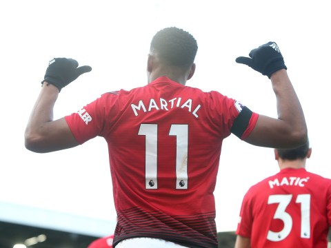 Anthony Martial compared to Cristiano Ronaldo by Gary Neville after sensational goal against Fulham