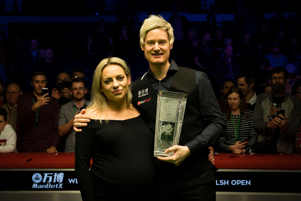 Neil Robertson dedicates Welsh Open title to son and first daughter on the way