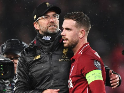 Jurgen Klopp singles out 'unbelievable' Jordan Henderson after Liverpool draw against Bayern Munich