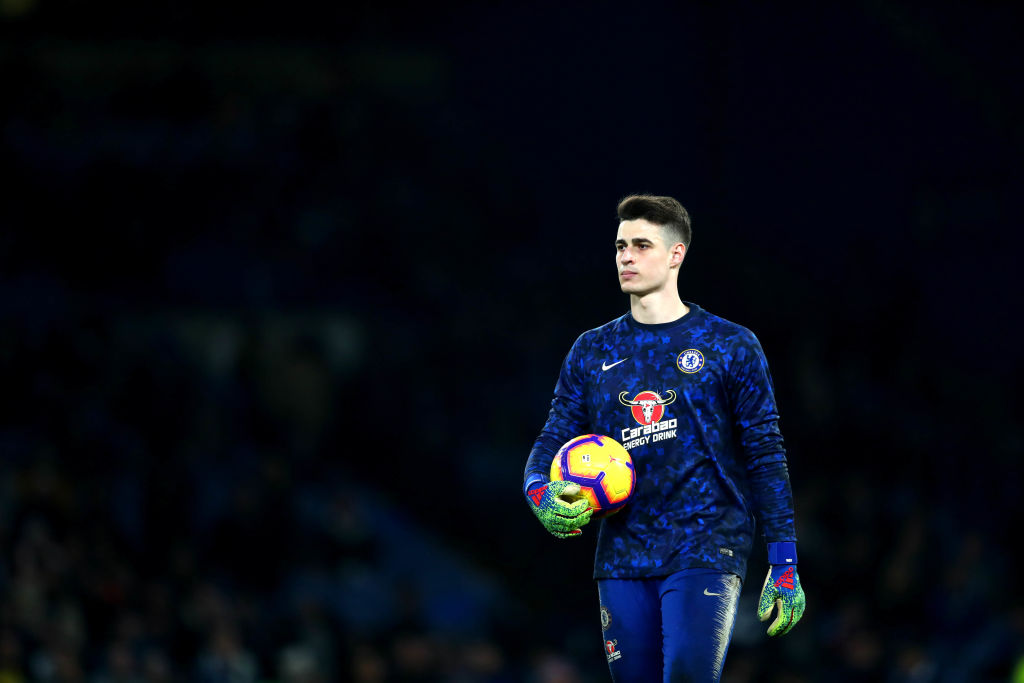 Maurizio Sarri reveals who will be his Chelsea no.1 after Kepa dropped against Spurs