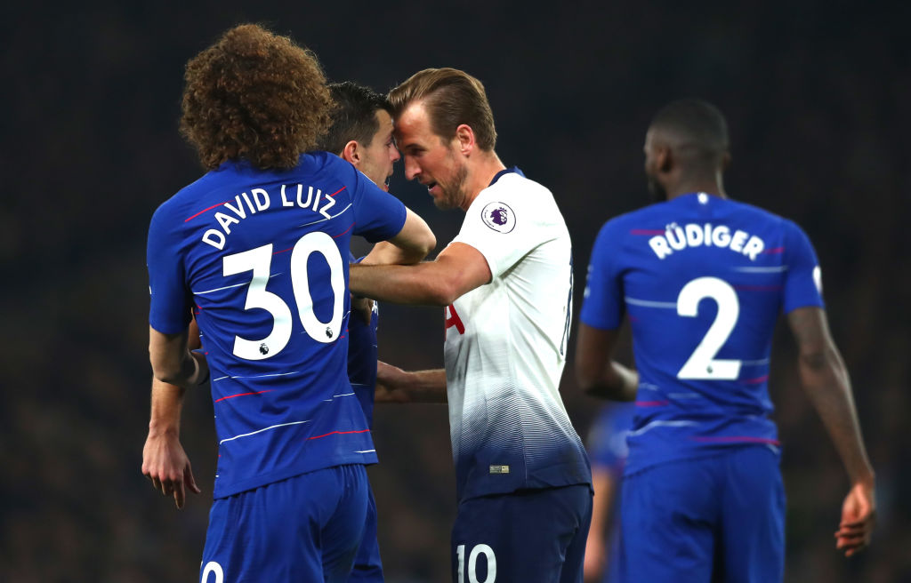 Harry Kane faces ban for Arsenal clash after headbutting Cesar Azpilicueta during Chelsea defeat