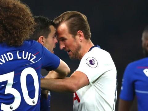 Harry Kane faces ban for Arsenal clash after headbutting Cesar Azpilicueta during Chelsea defeat