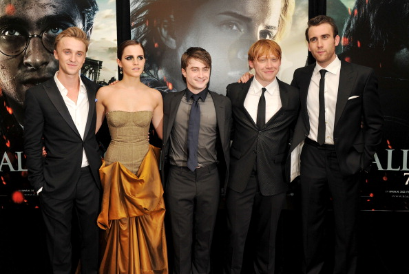 Emma Watson and Tom Felton have a Harry Potter reunion and he takes the coolest photo of her