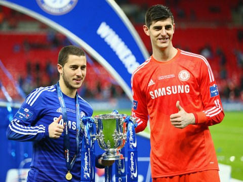 Thibaut Courtois compares Real Madrid sensation Vinicius Junior to Chelsea ace Eden Hazard