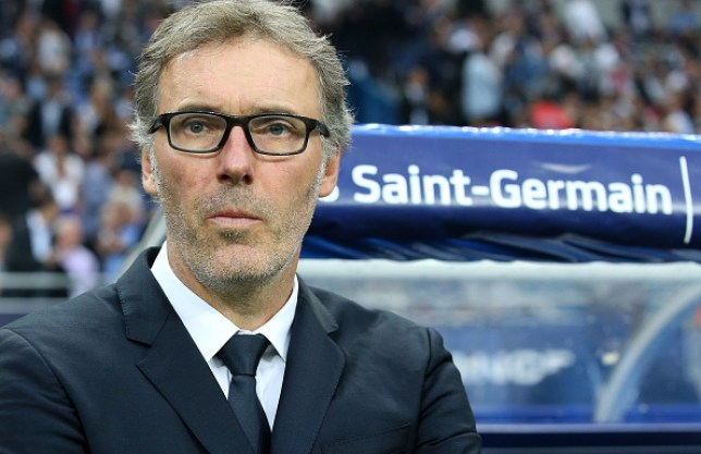 Laurent Blanc working as manager for PSG