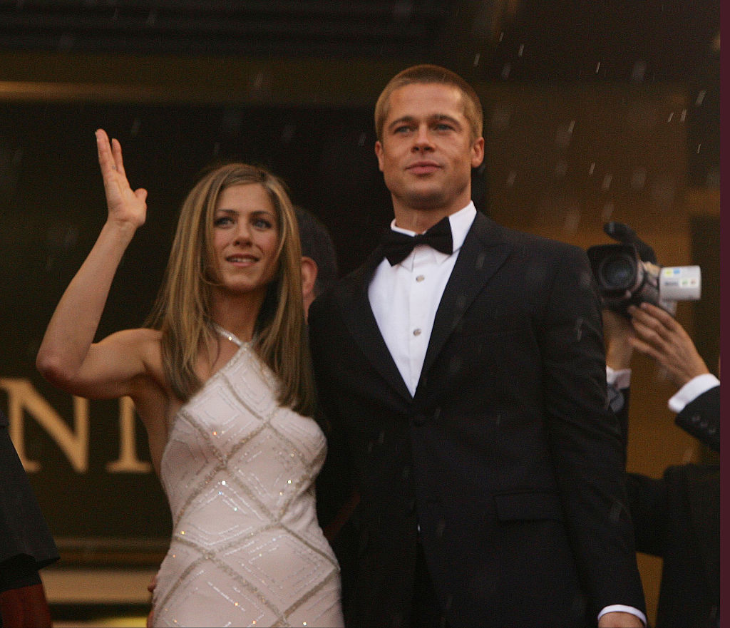 Brad Pitt apparently attended ex Jennifer Aniston's 50th birthday