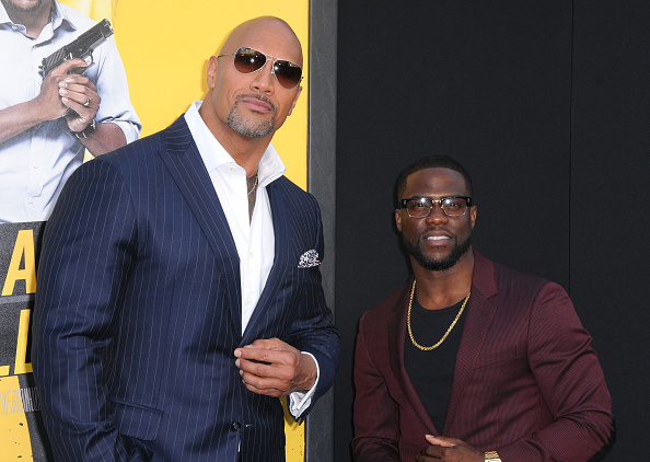 Dwayne Johnson subtly trolls Kevin Hart and says: 'I was first choice to host the Oscars'