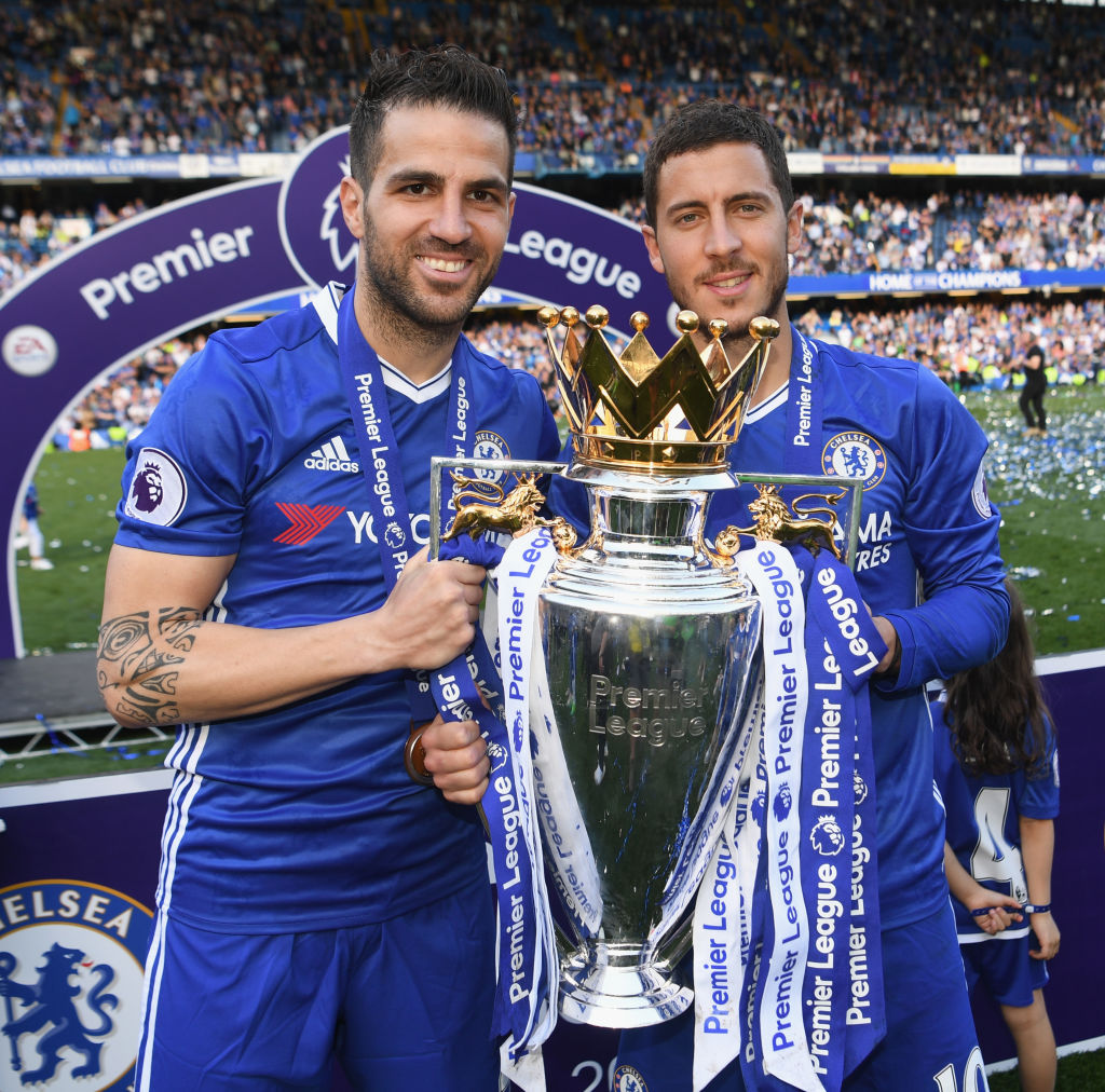 Cesc Fabregas thinks Eden Hazard will sign new Chelsea contract and reject Real Madrid