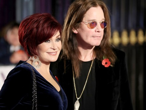 Sharon Osbourne reveals Ozzy is 'out of ICU and 'breathing on his own' after being hospitalised with flu