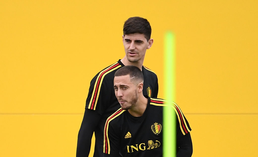 Former Chelsea goalkeeper Thibaut Courtois wants 'buddy' Eden Hazard at Real Madrid