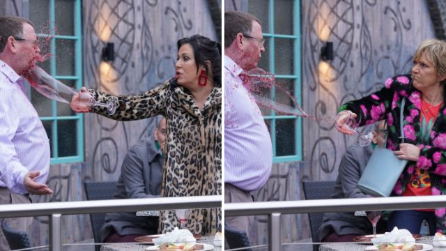 EastEnders spoilers: Ian Beale gets soaked twice after upsetting Jean Slater