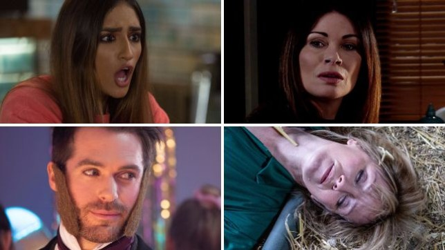 Soap spoilers for Habiba in EastEnders, Carla in Coronation Street, Laurie in Hollyoaks, Rhona in Emmerdale