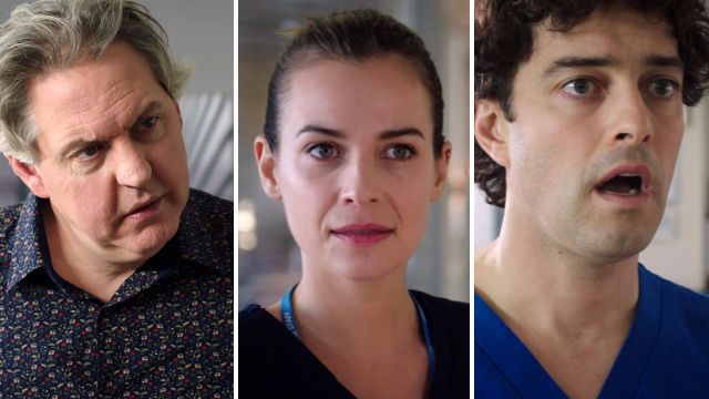 Holby spoilers for Sacha, Zosia and Lofty