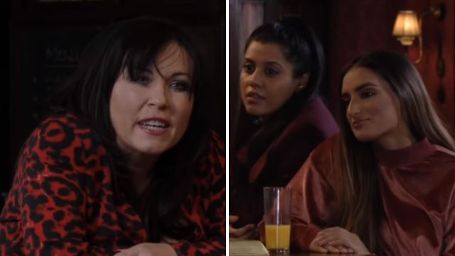 Kat lashes out at Habiba in EastEnders