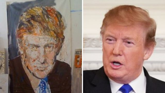 Donald Trump 'rigged charity auction so portrait of him would be sold for highest price'