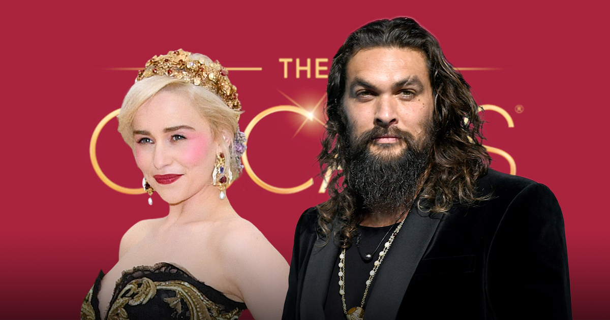 Jason Momoa and Emilia Clark to hold Game Of Thrones reunion at Oscars
