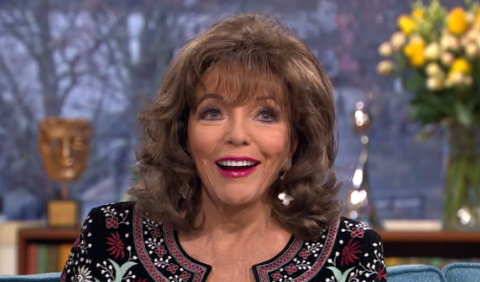 This Morning segment with Joan Collins and camels at London Zoo is a complete disaster