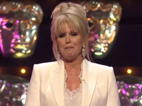 Joanna Lumley kicks off 2019 Baftas by having a dig at the Oscars: 'At least we have a host'