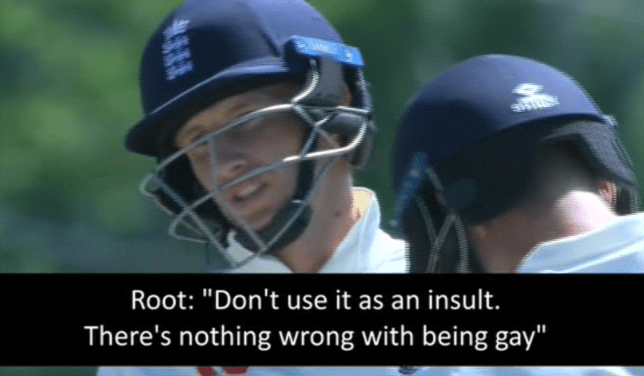 Joe Root tells Shannon Gabriel 'there's nothing wrong with being gay' during England vs West Indies cricket