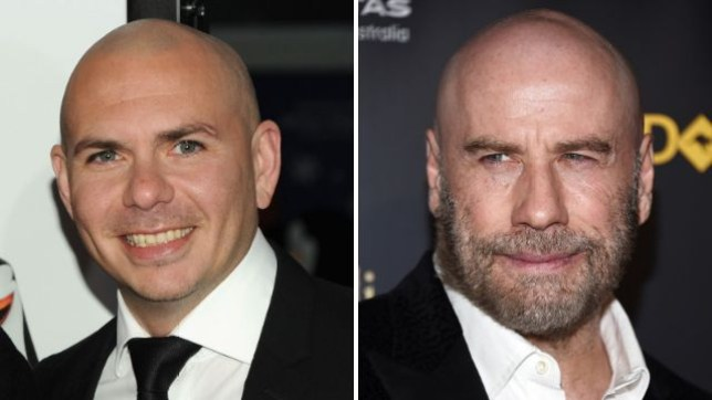 John Travolta got inspiration to go bald from his friend