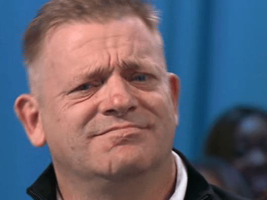 Man reacting to fiancé proposing to him live on Loose Women is priceless