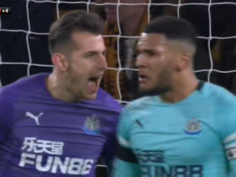 Rafa Benitez reveals what was said in row between Martin Dubravka andJamaal Lascelles after Wolves snatch late draw against Newcastle United