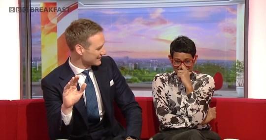 BBC Breakfast newsreader says she 'microwaves pets' in live TV slip