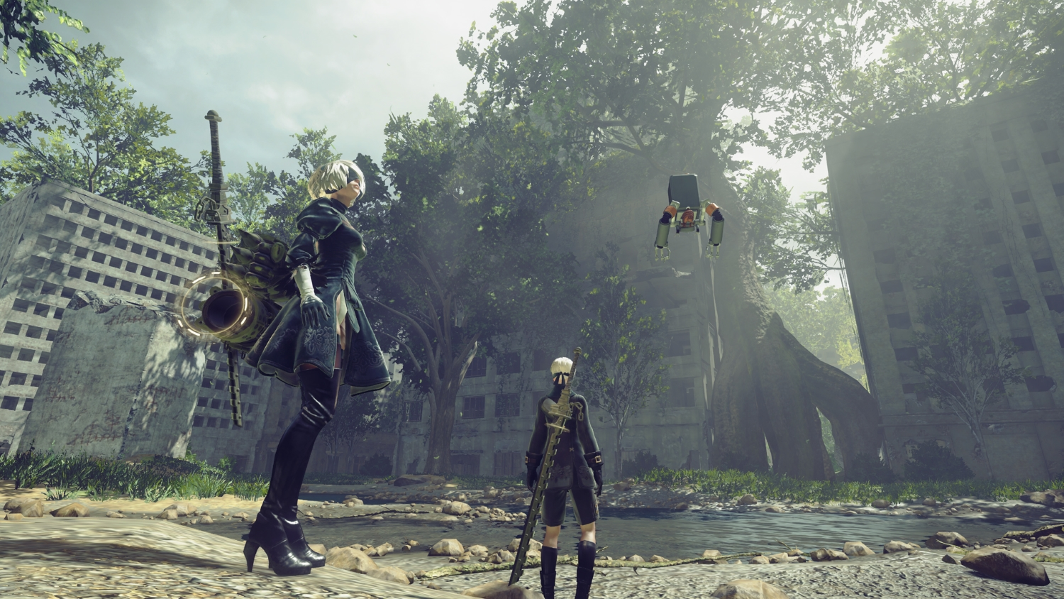 NieR:Automata Game Of The YoRHa Edition (PS4) - the most unexpected of hits