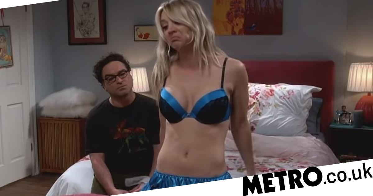 b583170d7d52e Big Bang Theory's Penny strips off to seduce Leonard as series reaches  final 10 episodes