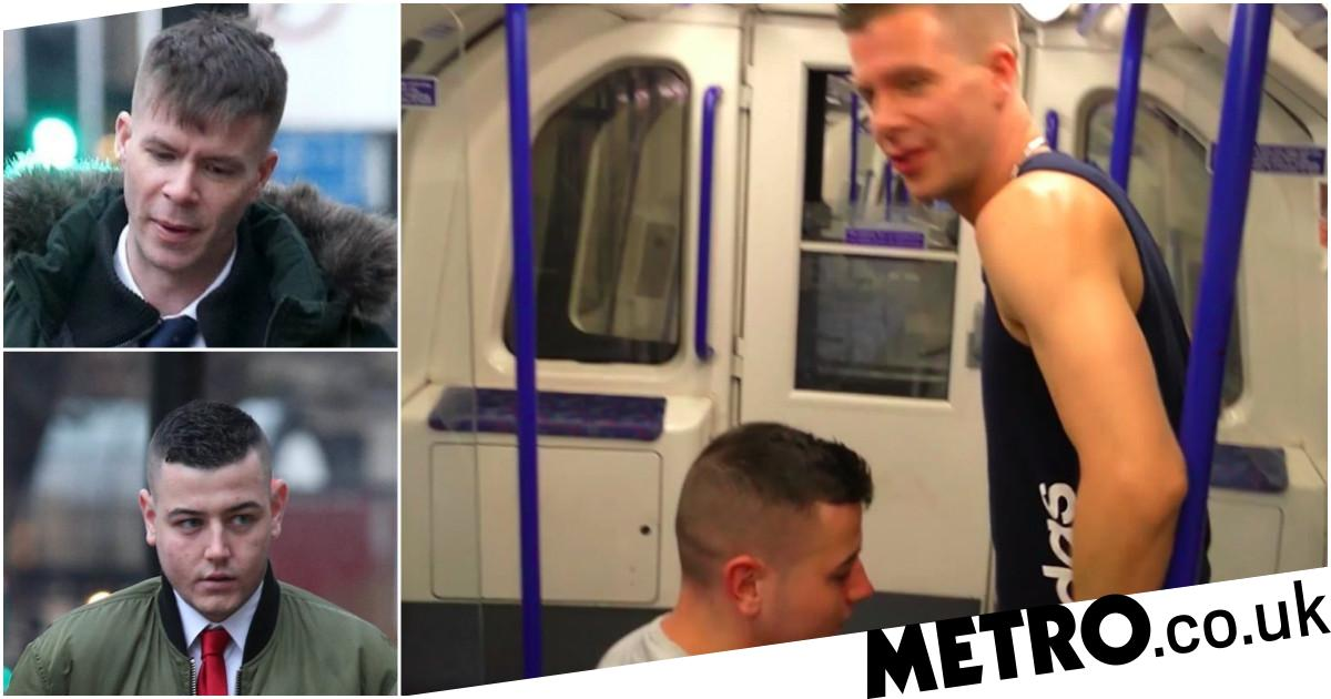 Gay porn threesome in front of Tube passengers ends with £