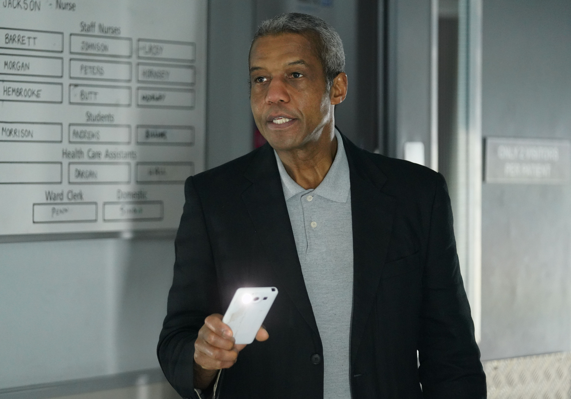 Holby City and Casualty spoilers: Ric Griffin in huge baby shock in crossover episodes
