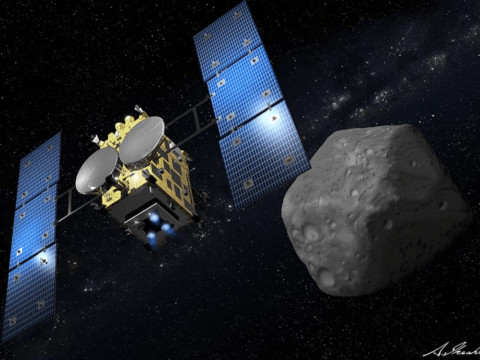Japanese spaceship lands on asteroid in bid to solve mystery of the solar system's origins
