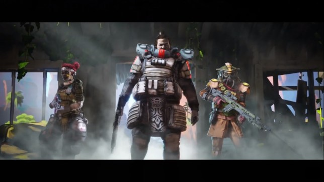Some of the characters in Apex Legends