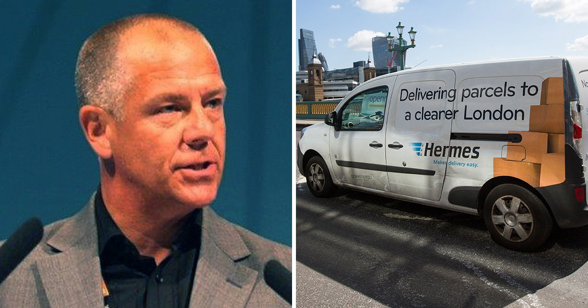 Gig worker victory as Hermes couriers are given holiday pay and guaranteed earnings