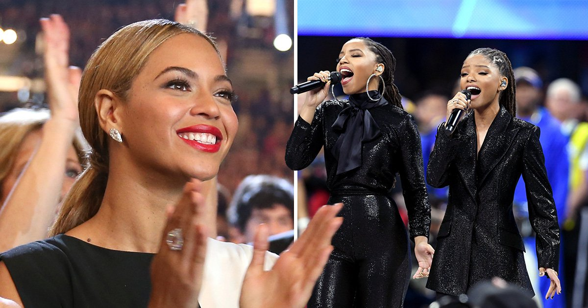 Beyonce wasn't at the Super Bowl but Chloe x Halle slayed in her absence with powerhouse vocals
