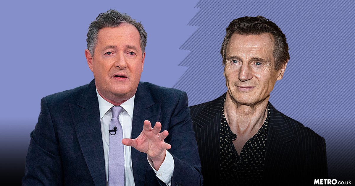 Piers Morgan disgusted by Liam Neeson's 'racist' comments: 'It's like Ku Klux Klan stuff'
