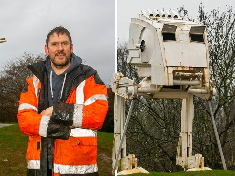 Sci-fi fan can keep Star Wars vehicle outside after winning planning permission