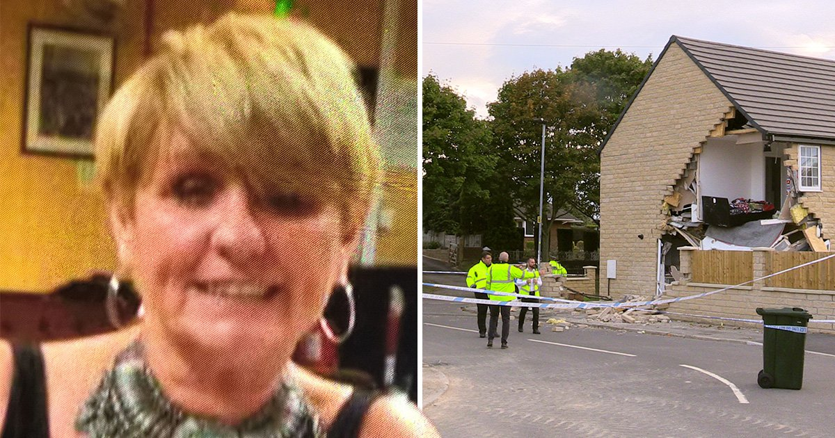 Woman killed by stolen lorry while power-walking near her home