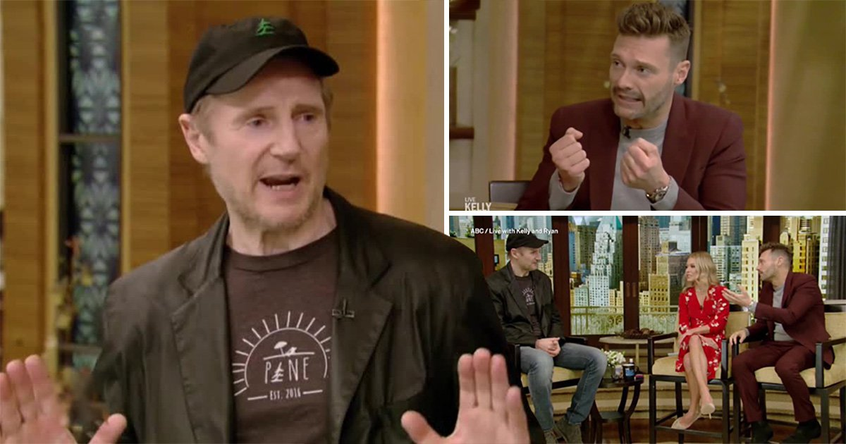 Liam Neeson is done rehashing 'black b*****d comments' in tense interview