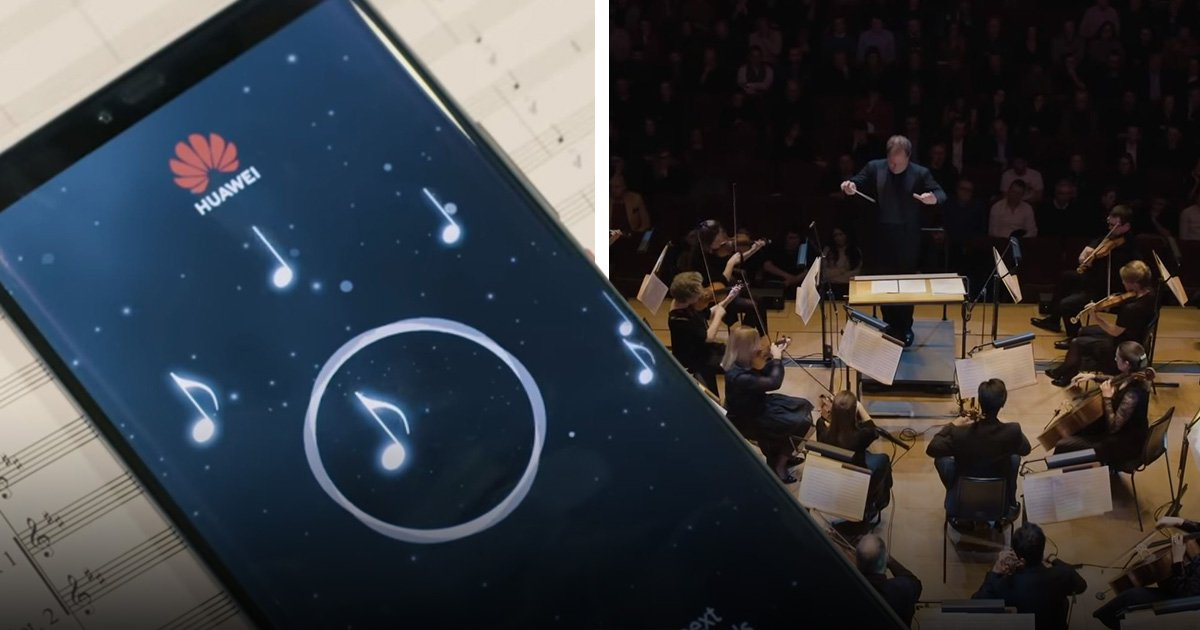 Huawei used a smartphone to complete a 197-year-old unfinished symphony