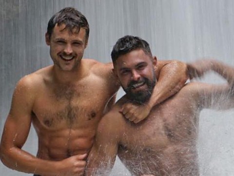 Zac Efron and his brother wrestling under a waterfall renders the internet speechless