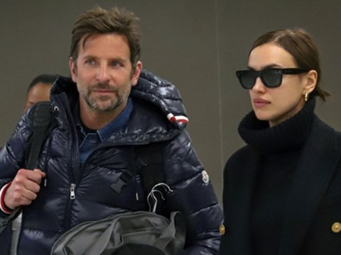 Bradley Cooper hopes for Baftas glory as he jets to UK with Irina Shayk