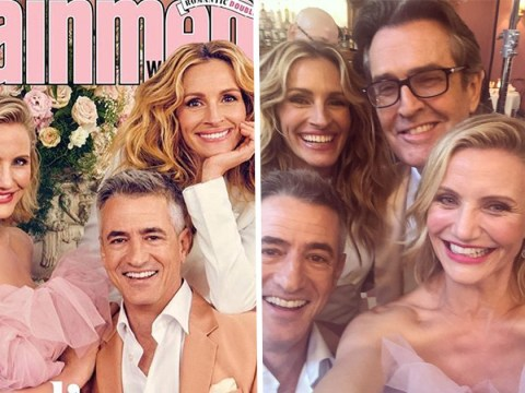 Cameron Diaz treats fans to My Best Friend's Wedding selfie as cast reunite 23 years on