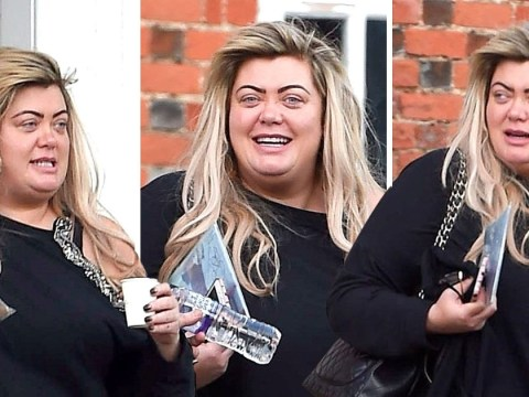Gemma Collins looks radiant as she leaves luxury spa following second Dancing On Ice fall
